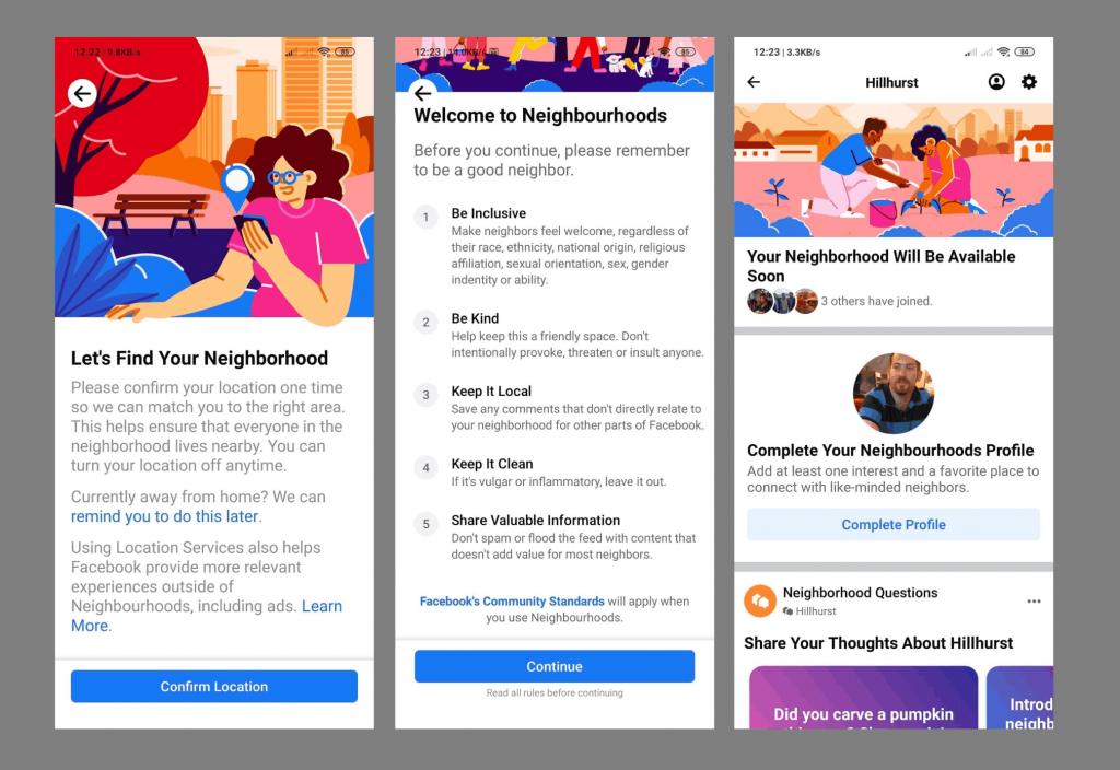 Facebook-ი აშშ-ში მეზობლების გაერთიანებისთვის ახალ სერვისს – Neighborhoods ტესტავს